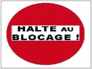 Bejaia : divorce entre l'administration et les administrés. dans 1. AU JOUR LE JOUR Halte-au-blocage-300x226