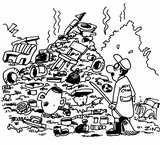 La wilaya de Bejaia croule sous les ordures  dans 2. GESTION DE LA VILLE Caricature-ordures