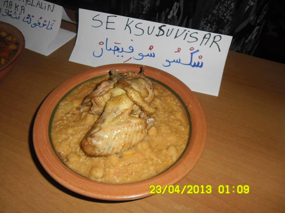 Plaidoyer pour une semaine sur la cuisine traditionnelle dans 1. AU JOUR LE JOUR abissar
