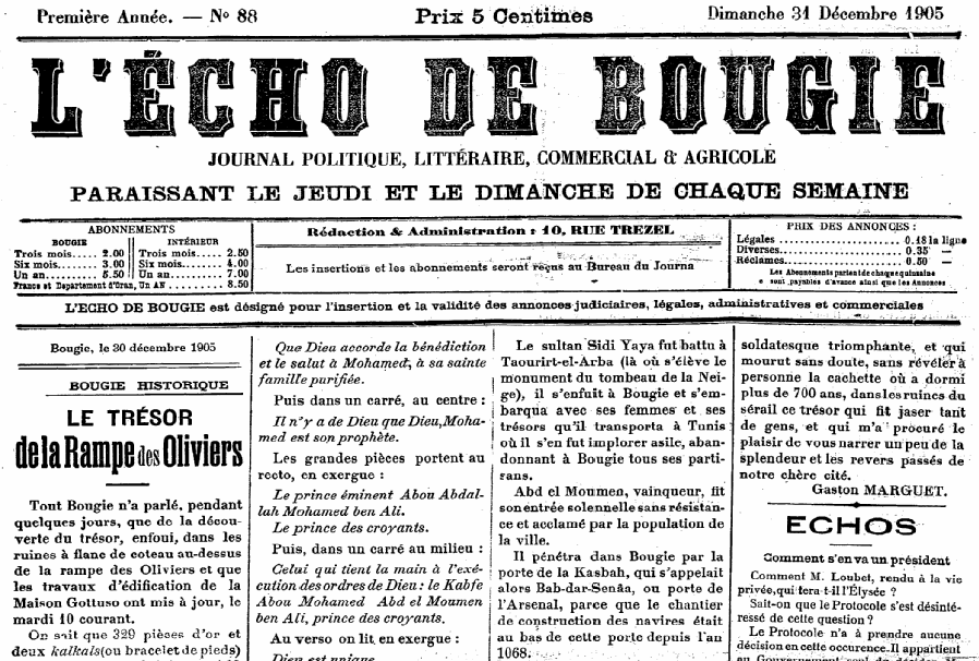 Echo de Bougie
